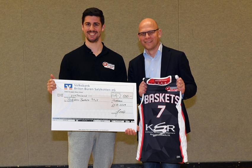 Kröger und Rehmann unterstützt Baskets-Jugend